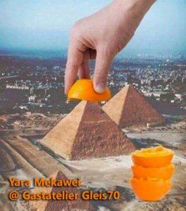 Yara Mekawei - Gastatelier Gleis70 - 1st open studio - email image